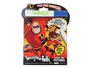 books & patterns: Bendon Magic Ink Pictures Book Disney Incredibles 2