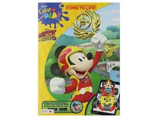 Bendon Color & Play Disney Mickey And The Roadster Racers Book