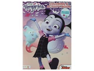 books & patterns: Bendon Coloriing & Activity Sticker Book Disney Vampirina