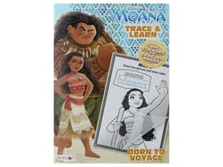 books & patterns: Bendon Trace & Learn Book Disney Moana