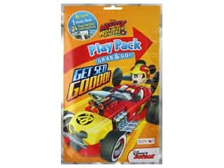 books & patterns: Bendon Coloring Book Play Pack Disney Mickey And The Roadster Racers