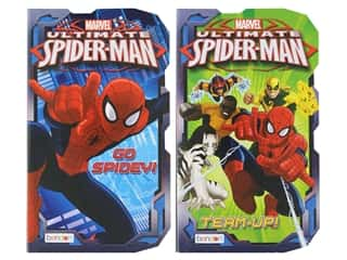 books & patterns: Bendon Board Marvel Ultimate Spider Man Book Assorted