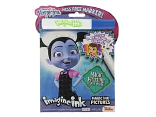books & patterns: Bendon Magic Ink Pictures Book Disney Vampirina