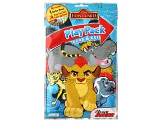 Bendon Coloring Play Pack Disney Lion Guard Book