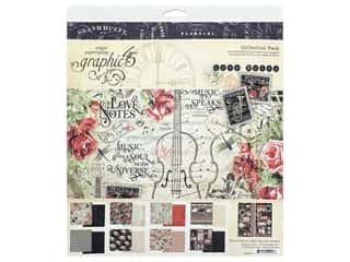 scrapbooking & paper crafts: Graphic 45 Collection Love Notes Collection Pack 12 in. x 12 in.