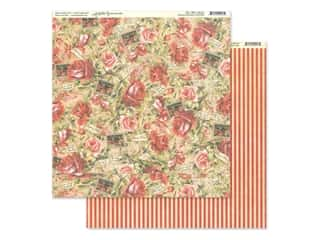 Graphic 45 Collection Love Notes Paper 12 in. x 12 in. Romantic Rhapsody (25 pieces)