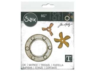 circle dies: Sizzix Tim Holtz Bigz Die Steampunk Parts
