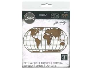 Sizzix Tim Holtz Thinlits Die Destination