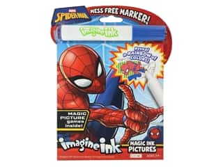 books & patterns: Bendon Magic Ink Pictures Book Marvel Spider Man