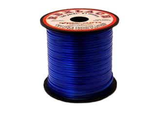 Pepperell Rexlace Craft Lace 100 yd. Clear Blue