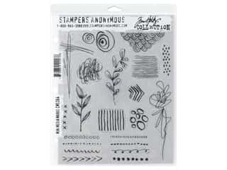 scrapbooking & paper crafts: Stampers Anonymous Cling Mount Stamp Tim Holtz Media Marks Mini