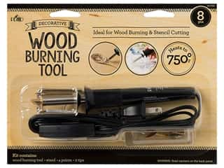 craft & hobbies: Plaid Tools 2-N-1 Craft Wood Burner/Stencil Cutter