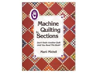 Books & Patterns: Marti Michell Machine Quilting in Sections Book