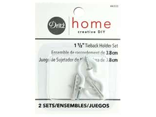 craft & hobbies: Tie Back Holders by Dritz Home 1 1/2 in. 2 pc.