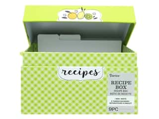 Darice Recipe Card Box Citrus