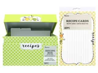 Darice Recipe Box Set Citrus