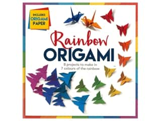 scrapbooking & paper crafts: Carlton Kids Rainbow Origami Book