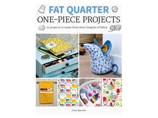 Fat Quarter One Piece Projects Book