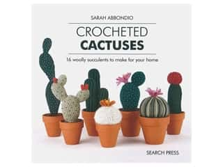 Search Press Crocheted Cactuses Book