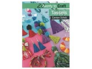 beading & jewelry making supplies: Search Press Twenty To Craft Tassels Book