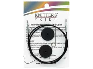 Knitter's Pride Interchangeable Needle Cord Black/Silver 32 in.