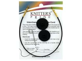 Knitter's Pride Interchangeable Needle Cord Black/Gold 16 in.