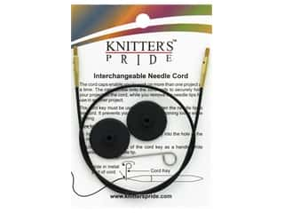 Knitter's Pride Interchangeable Needle Cord Black/Gold 24 in.
