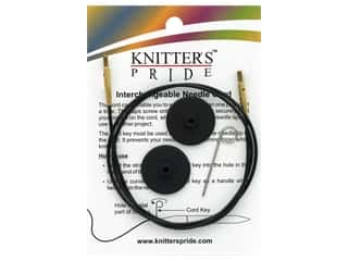 yarn & needlework: Knitter's Pride Interchangeable Needle Cord Black/Gold 32 in.