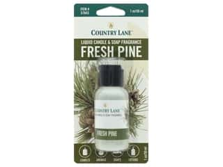 candle scent: Country Lane Scent Liquid Candle & Soap Fragrance Fresh Pine 1 oz