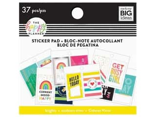 scrapbooking & paper crafts: Me&My Big Ideas Collection Create 365 Happy Planner Sticker Pad Tiny Brights