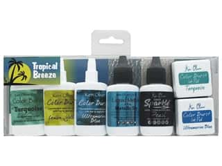 scrapbooking & paper crafts: Contact Crafts Ken Oliver Multi Media Pack Tropical Breeze 6 pc