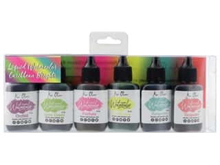 Contact Crafts Ken Oliver Liquid Watercolor Set Caribbean Brights 6 pc.