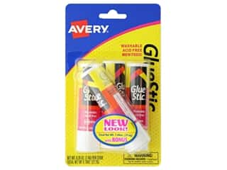 Avery Glue Stick .26 oz. 3 pc. Permanent