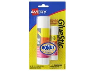 glues, adhesives & tapes: Avery Glue Stick 1.27 oz. Permanent