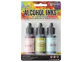 scrapbooking & paper crafts: Tim Holtz Alcohol Ink by Ranger .5 oz. Countryside Set 3 pc.