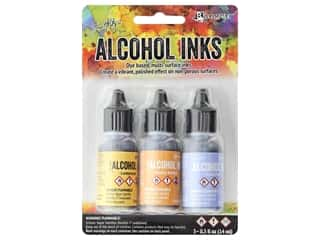 Tim Holtz Alcohol Ink by Ranger .5 oz. Wildflowers Set 3 pc.