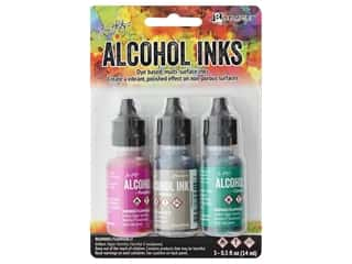 Tim Holtz Alcohol Ink by Ranger .5 oz. Valley Trail Set 3 pc.