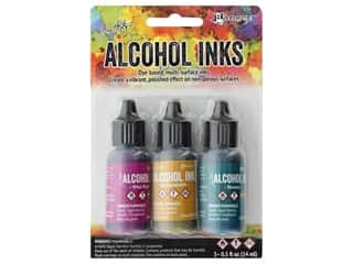 Tim Holtz Alcohol Ink by Ranger .5 oz. Nature Walk Set 3 pc.