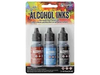 Tim Holtz Alcohol Ink by Ranger .5 oz. Miner's Lantern Set 3 pc.