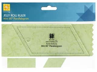 EZ Tools Jelly Roll Ruler Parallelogram Mini 60 Degree