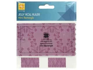 EZ Tools Jelly Roll Ruler Rectangle Mini