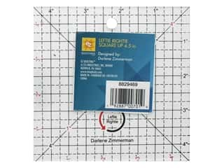 quilt rectangular square ruler: EZ Tools Square Up Leftie Rightie 4.5 in.