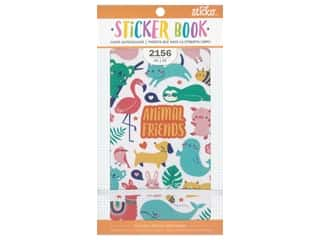 elastic: EK Sticko Stickers Book Animals