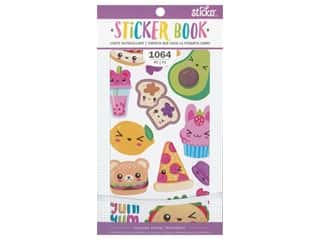 scrapbooking & paper crafts: EK Sticko Stickers Book Kawaii Food
