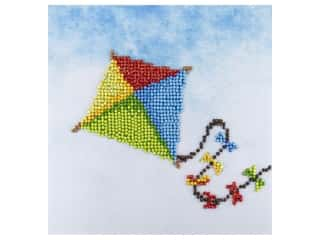 craft & hobbies: Diamond Art Kit 8 in. x 8 in. Beginner Kite