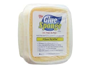 glues, adhesives & tapes: Glue Sponge  6 oz Acid Free