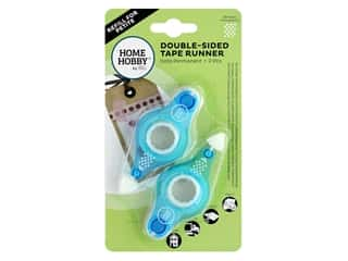 glues, adhesives & tapes: 3L Home Hobby Double-Sided Tape Runner Refill 2 pc. Permanent