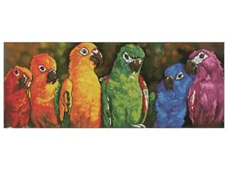 Diamond Dotz Facet Art Kit Intermediate Rainbow Parrots