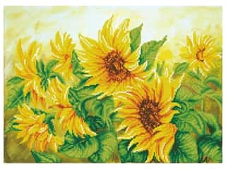 craft & hobbies: Diamond Dotz Facet Art Kit Intermediate Hazy Daze Sunflowers