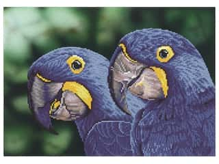craft & hobbies: Diamond Dotz Facet Art Kit Intermediate Blue Hyacinth Macaws